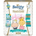Трусики Sweety Pantz Gold L54 шт(11-15кг)