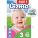 Подгузники Gizmo midi Jumbo 3 (4-9кг) 66шт