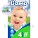 Подгузники Gizmo maxi Jumbo 4 (7-18кг) 58шт