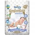 Подгузники Sweety Comfort Gold NB52 (0-5кг)