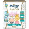 Трусики Sweety Pantz Gold XXL 40шт  (17-25кг)