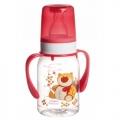 Тритановая бутылочка Canpol Babies с ручками с силиконовой соской, 120мл
