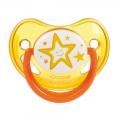 Пустышка Canpol Babies анатомическая силиконовая ночная 0-6 мес
