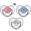 Пустышка силиконовая круглая Newborn baby  0-6 м Canpol Babies
