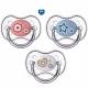 Пустышка силиконовая симметричная 6-18 месяцев Canpol babies