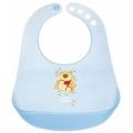 Слюнявчик пластиковый цветной Canpol Babies для мальчиков