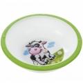 Тарелка-миска пластиковая с нескользящим дном Canpol Babies