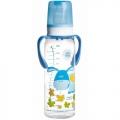 Тритановая бутылочка Canpol Babies с ручками с силиконовой соской, 250мл
