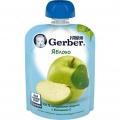 Пюре Gerber яблоко 90г (4м)