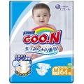 Подгузники Goon 6-11 кг M 64 шт