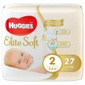 Подгузники Huggies Elite Soft 2 (3-6кг) 27 шт