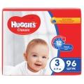 Подгузники Huggies Classic 3 (4-9 кг) 96 шт