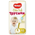 Трусики Huggies Elite Soft 4 (9-14кг) 42шт