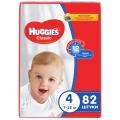 Подгузники Huggies Classic 4 7-18кг 82шт