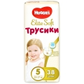 Трусики Huggies Elite Soft 5 (12-17кг) 38шт