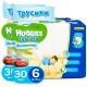 Трусики-подгузники Huggies для мальчиков 6 (16-22 кг) 30 шт. 2 УПАКОВКИ по 3500тг