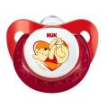 Пустышка ортодонтическая NUK  Disney 1 шт с 0-6 мес. Силикон