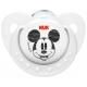 Пустышка ортодонтическая NUK Disney Mickey 2 шт Classik  с 0-6 мес. Силикон