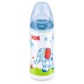 Бутылка NUK Детское счастье голубая FC+ 300мл