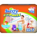 Трусики Sweety Fit Pantz XL 7шт (14-18кг)