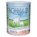 НЭННИ 2 с пребиотиками  от 6 до 12мес,400гр