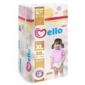 Трусики-подгузники Mello размер XL (12-17 кг) 38 шт
