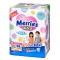 Подгузники-трусики Merries XXL (15-28 кг) 26 шт