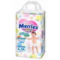 Подгузники-трусики Merries L (9-14 кг) 44шт