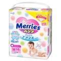 Подгузники-трусики Merries M (6-10 кг) 58 шт