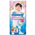 """Японские трусики """"Moony"""" для девочки, оригинал, размер B.Big, 13-25 кг, 26 шт"""