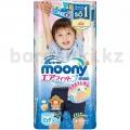 """Японские трусики """"Moony"""" для мальчика, оригинал, размер Big, 12-17 кг, 38шт"""