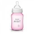 Philips AVENT Бутылочка для кормления серии Classic+ розовая 260 мл