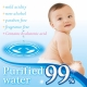 Влажные салфетки Baby wipes 99%  для малышей, 30шт