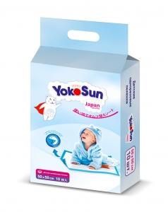 YokoSun Детские одноразовые пеленки 50*50см 10 шт