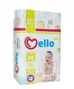 Трусики-подгузники Mello размер M (6-10 кг) 56 шт
