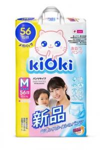 Подгузники-трусики Kioki M (6-11 кг) 56 шт