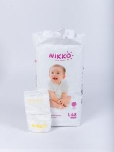 Подгузники Nikko размер L (9-14) кг 48 шт