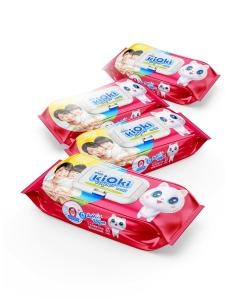 Детские влажные салфетки Kioki, 80шт
