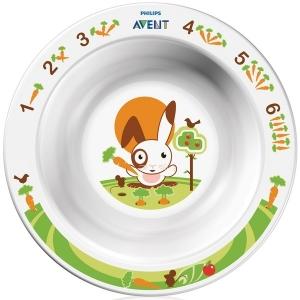 Avent Глубокая тарелка малая с 6м