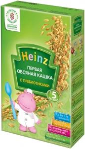 Безмолочная Первая Овсяная Кашка Heinz с 5 мес, 200гр