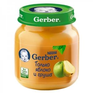 Пюре Gerber Яблоко-Груша 130 г