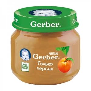 Пюре Gerber Персик 80 г