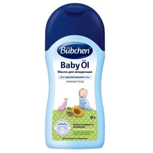 Масло очищающее для младенцев Bubchen 200 мл с маслом карите и подсолнечника