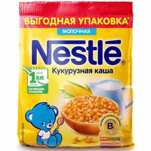 Каша Nestle молочная кукурузная  200 г с 5 мес (мягкая упаковка)
