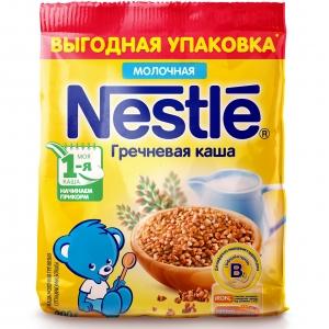 Каша Nestle молочная гречневая  с 4 мес. 200 г  (мягкая упаковка)