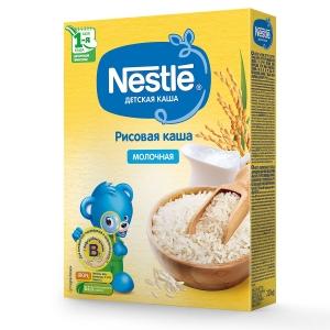 Каша Nestle молочная рисовая 220г с 4месяцев