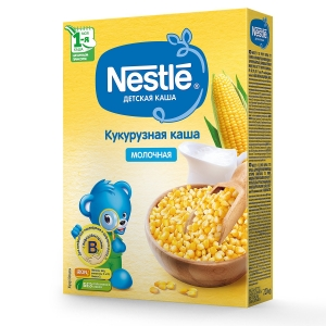 Каша Nestle молочная кукурузная 220г с 5месяцев