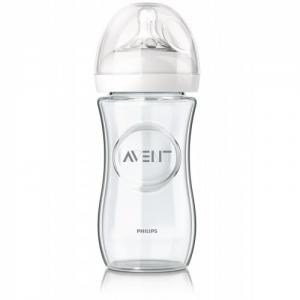 Philips AVENT Бутылочка для кормления  серия Natural 240 мл стекло 1 шт.