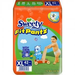 Трусики Sweety Fit Pantz XL 42шт (14-18кг)