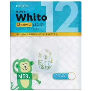 Whito 12  Трусики подгузники размер M (7-10 кг) 58 шт